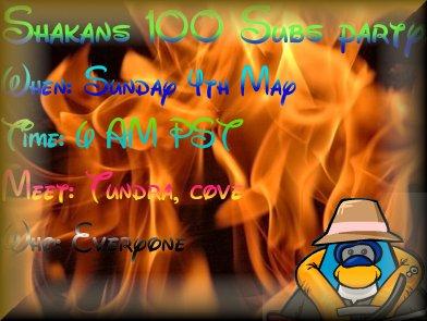 Shakans party